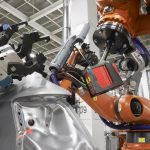 Automated Metrology Solution in-line for automotive body shop underbody