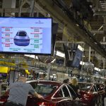 Perceptron Moving Line Gap and Flush Displays for Automotive Final Assembly
