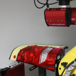 Perceptron Gap and Flush Solution for Headlamps and Taillamps