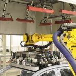 Automated Robot Guidance Solution for Automotive Roof Load Application