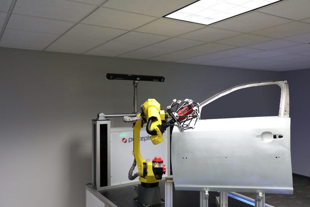 Perceptron AutoGaugeACF Automated Checking Fixture Solution