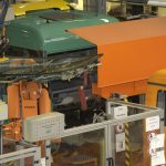 AutoGuide Robot Guidance Solution Loading Automotive glass in-line