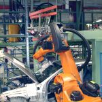 AutoGuide Robot Guidance Solution Loading Automotive windshield glass in-line