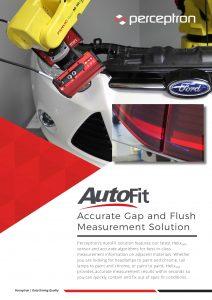 Perceptron AutoFit Gap and Flush Measurement Brochure Thumbnail
