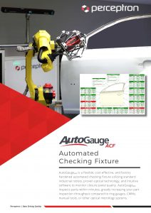 Perceptron AutoGaugeACF Automated Checking Fixture Brochure Thumbnail