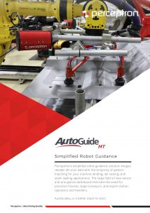Perceptron AutoGuideMT Simplified 3D Robot Guidance Brochure Thumbnail