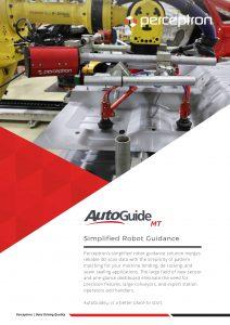 Perceptron AutoGuideMT Simplified 3D Robot Guidance Brochure Thumbnail