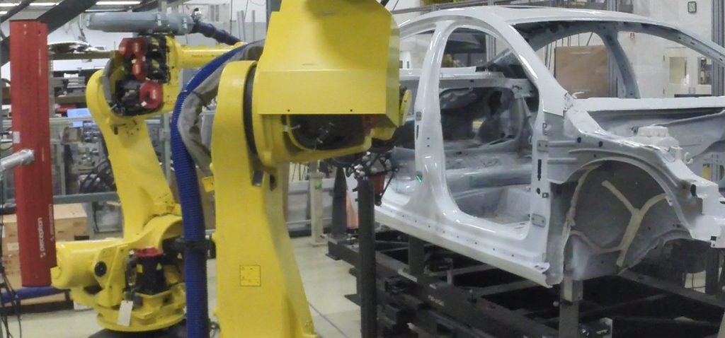 Perceptron's Accurate solution for In-Line Measurement of Automotive Assemblies